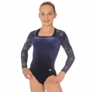 The_Zone_Adult_Fireworks_Long_Sleeve_Leotard_Navy