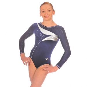 The_Zone_Adult_Cosmic_Long_Sleeve_Leotard_Navy