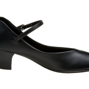 Capezio_Jr_Footlight_Stage_Shoe_Black
