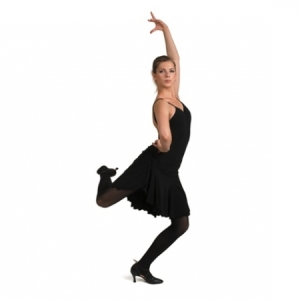 Capezio_Short_Gore_Skirt_Black