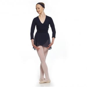 Capezio_Adult_Cross_Over_Cotton_Top_Black