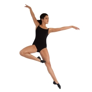 Capezio_Camisole_Leotard_with_BraTek_Black