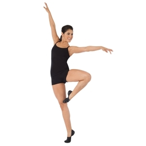 Capezio_Camisole_Top_with_BraTek_Front_Black