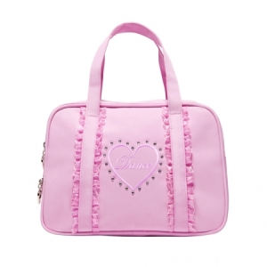 Capezio_Childrens_Dance_Heart_Bag_Pink