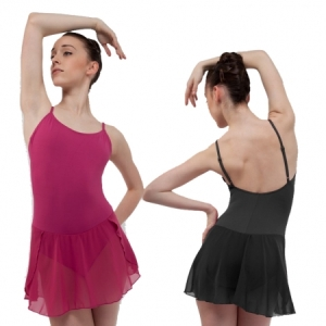 Capezio_Adult_Camisole_Dress_Black