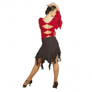 Capezio_Long_Ruffle_Skirt_Black