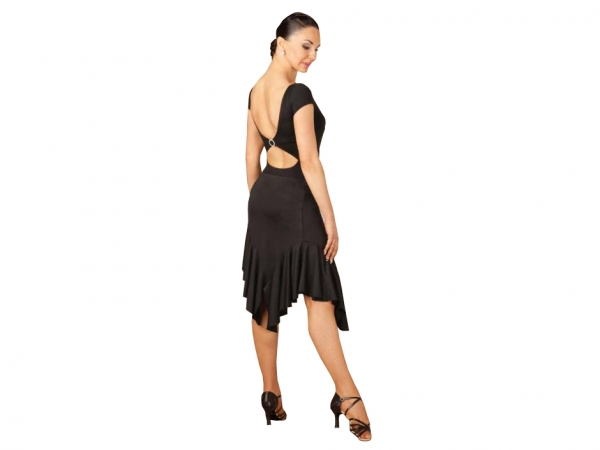 Capezio_Asymmetrical_Short_Ruffle_Skirt_Black
