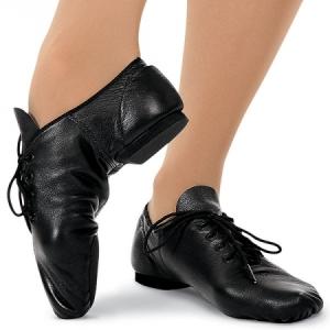 Capezio_E_Series_Oxford_Jazz_Shoe_Black