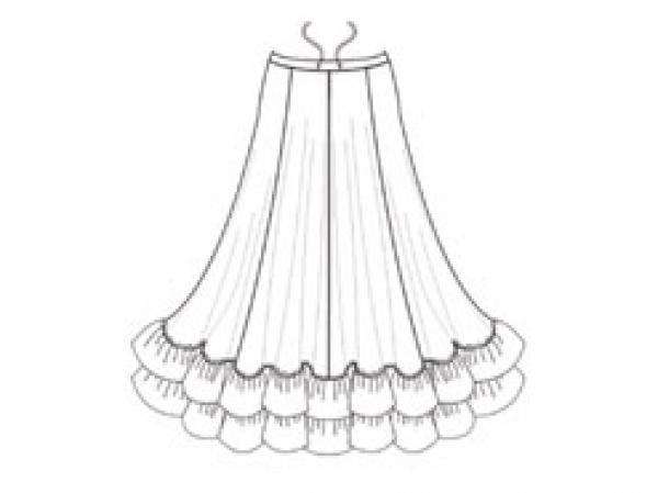 Capezio_Flamenco_Skirt