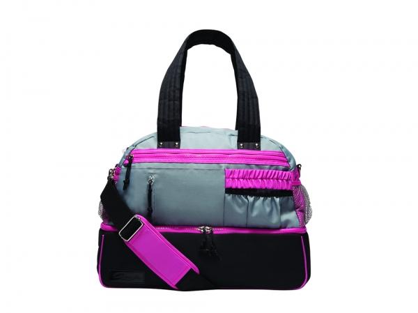 Capezio_Multi_Compartment_Dance_Bag_Black_Pink_Grey