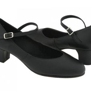 Capezio_Leather_Jr_Footlight_Stage_Shoe_Side_Black