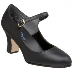 Capezio_Manhattan_Leather_Character_Shoe_Black