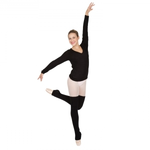 Capezio_Harmonie_V_Neck_Sweater_Black
