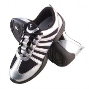 Freed_of_London_Low_Profile_Silver_Dance_Sneaker_Silver