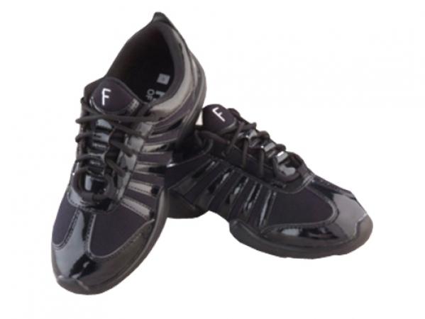 Freed_of_London_Low_Profile_Black_Dance_Sneaker_Black