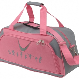 Gifted_Dancer_Grey_and_Pink_ Dance_Holdall_Grey_Pink