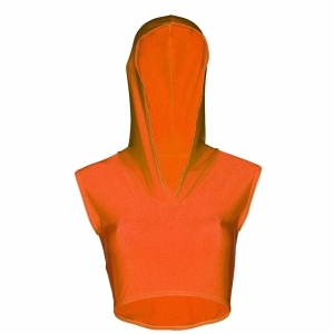 Adults_Hooded_Crop_Top_Orange