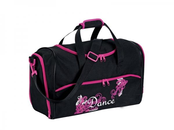 Dance_Swirls_Holdall_Bag_Black_Pink