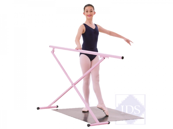 Adjustable_Pink_Ballet_Barre_Pink