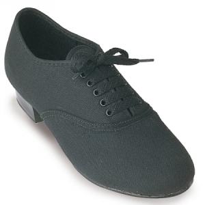 Roch_Valley_Boys_Canvas_Oxford_Tap_Shoe_Black
