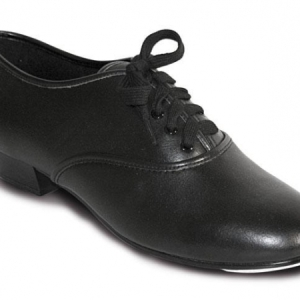 Roch_Valley_Boys_PU_Oxford_Tap_Shoe_Black