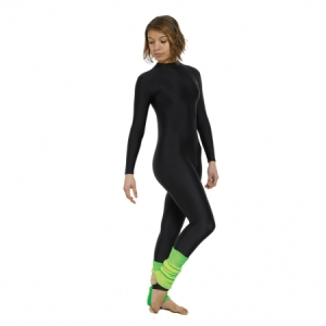 Adults_Turtle_Neck_Long_Sleeve_Catsuit_Black