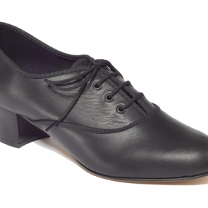 Tappers_and_Pointers_Leather_Oxford_Shoe_Black