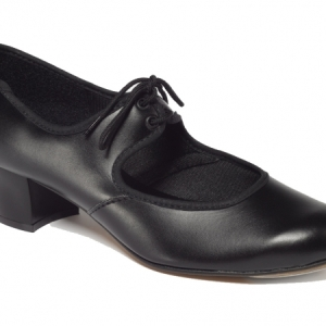 Tappers_and_Pointers_PU_Tie_Tap_Shoe_Black