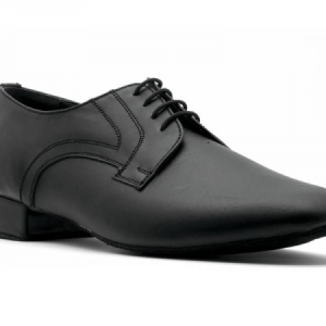 Topline_Black_Leather_Standard_Ballroom_Shoe_Black