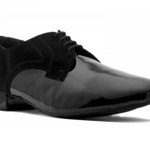 Topline_Nubuck_and_Patent_Ballroom_Shoe_Black
