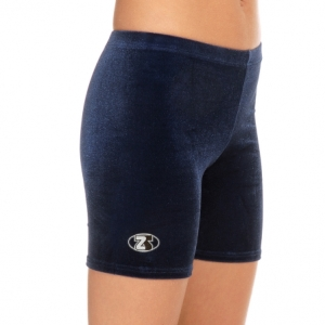 The_Zone_Childs_Smooth_Velour_Cycle_Shorts_Navy