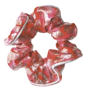 The_Zone_Coral_Scrunchie_Coral